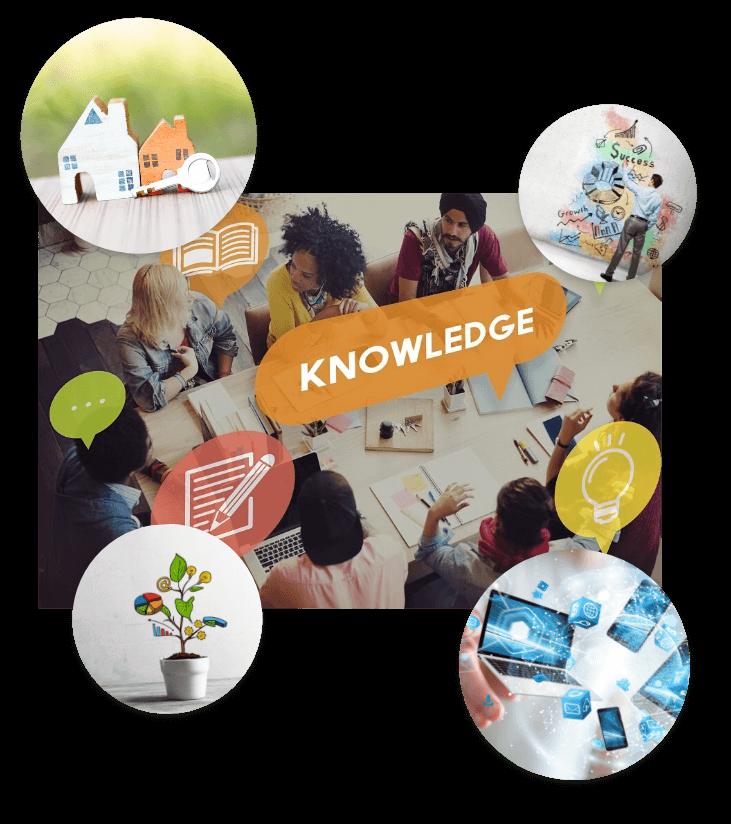 知識や手段、そして環境を提供すること